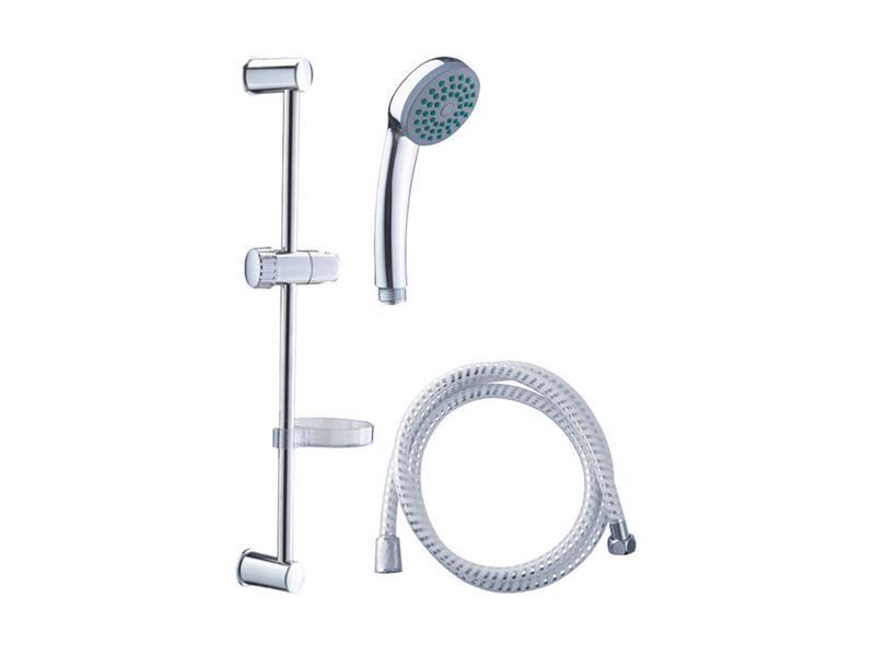 VIKING sada sprchová velká, 1funkční hlavice, držák na sprchu, hadice 150cm, držák na mýdlo, tyč, VI