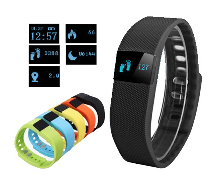Fitness FT64 Bluetooth 4.0, Android+iOS černá