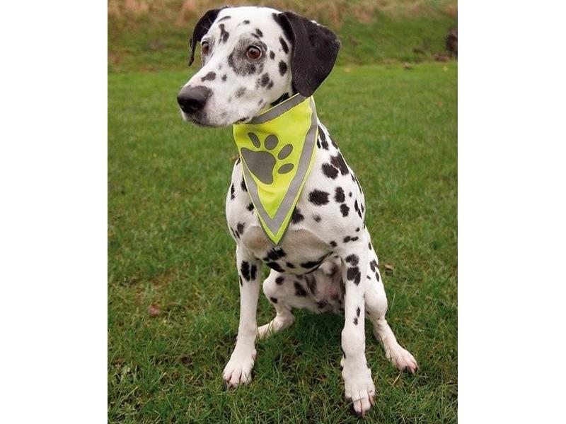 Šátek pro psy TRIXIE reflexní S/M (29-42 cm)