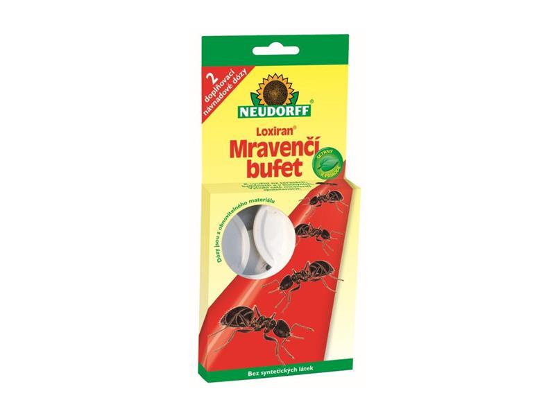 Past na mravence NEUDORFF LOXIRAN 2x dóza + 20 ml roztoku