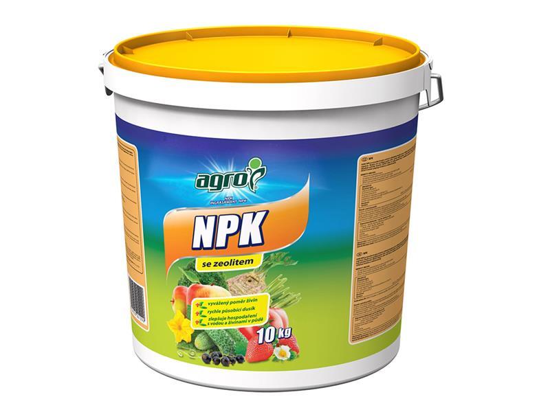 Hnojivo minerální AGRO NPK 11-7-7 se zeolitem 10 kg kbelík