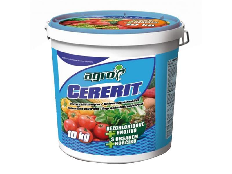 Hnojivo granulované AGRO CERERIT 10 kg kbelík