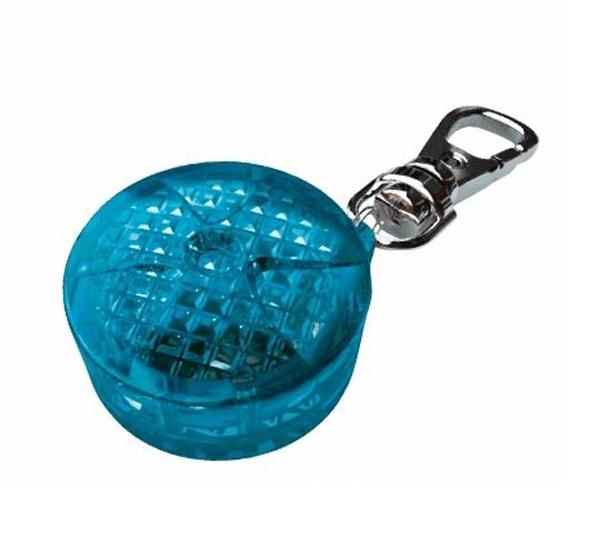 Přívěšek pro psy blikající TRIXIE modrý