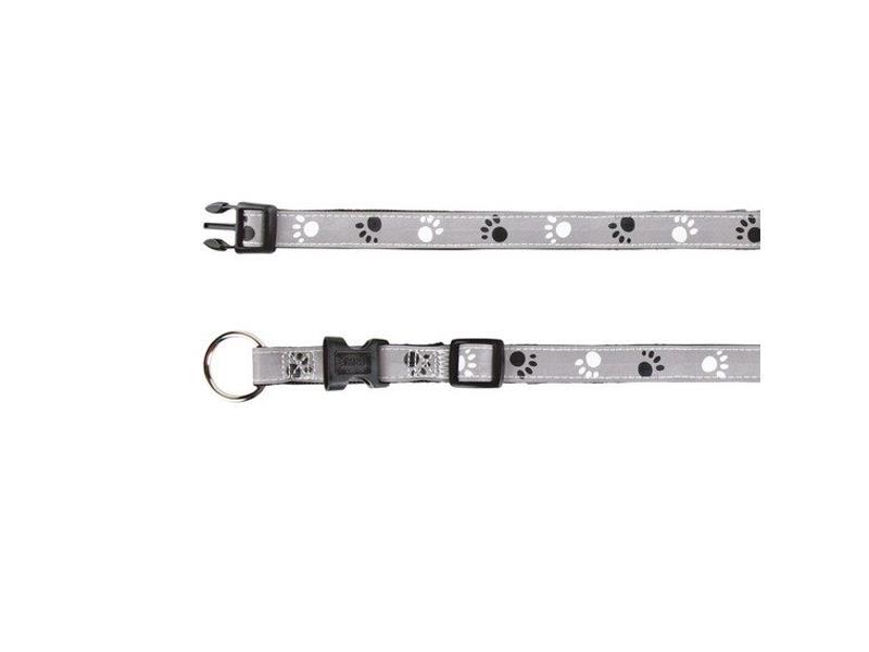 Obojek reflexní TRIXIE SILVER REFLECT S / M 30 - 45 cm