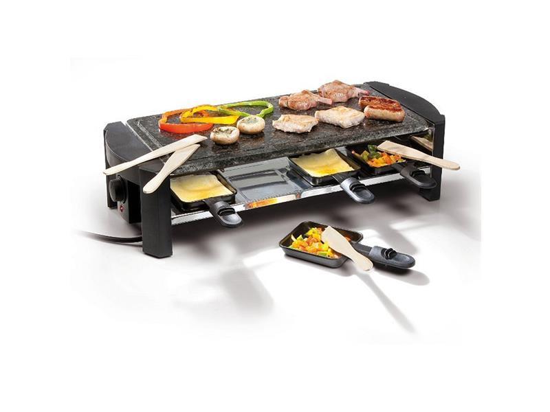 Raclette gril z přírodního kamene - DOMO DO 9039 G pro 8 lidí