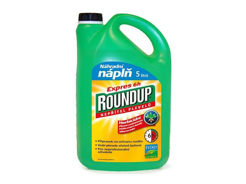 Herbicid ROUNDUP EXPRES 6h 5L NÁPLŇ