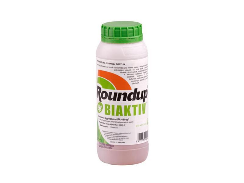 Herbicid ROUNDUP BIAKTIV 1L