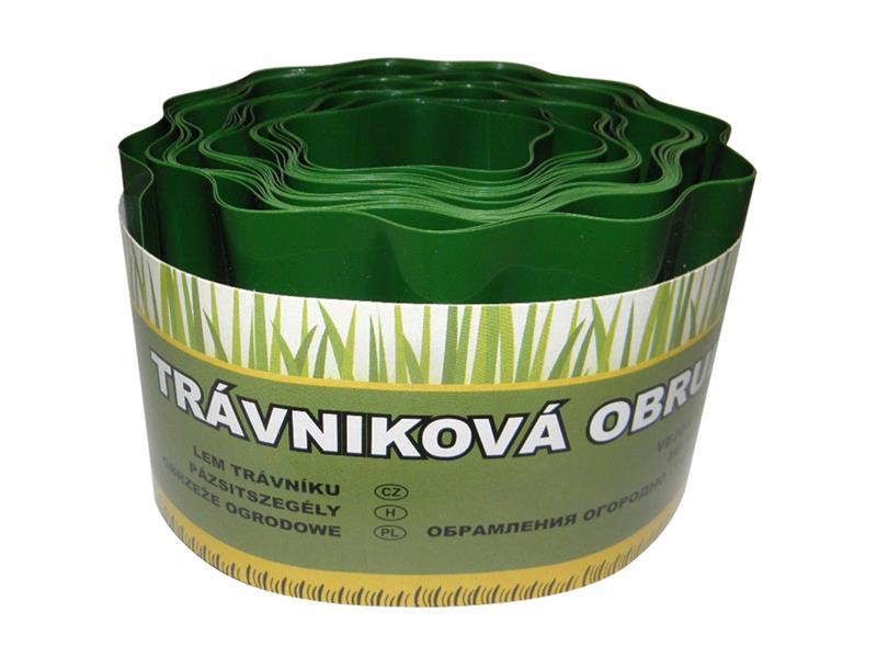 Obruba trávníku 9 m / 10 cm GREEN