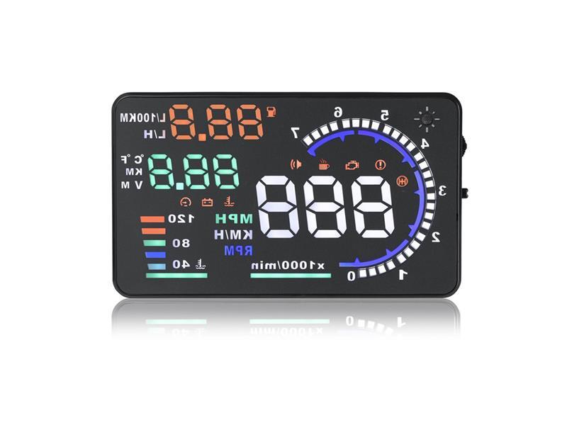 "STU Monitor s HUD projekčním displejem 5,5"" SE-155"
