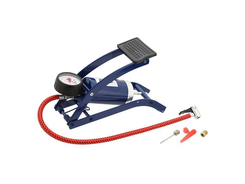 COMPASS Pumpa nožní s manometrem 0-6 barů