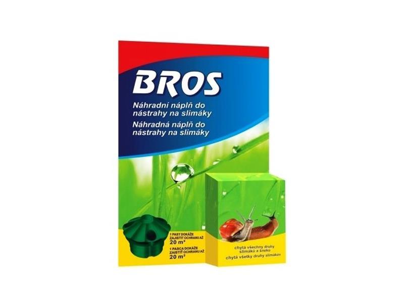 Nástraha na slimáky BROS náhradní náplň 5 ml