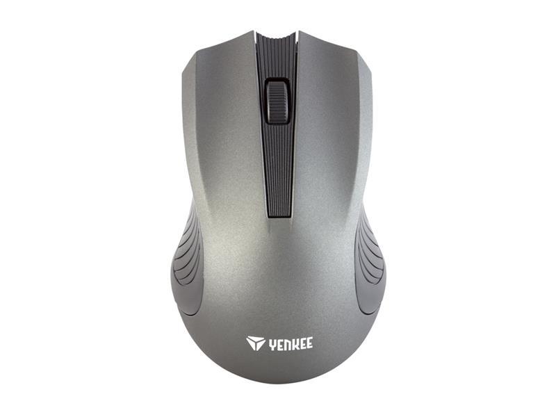 PC myš YENKEE YMS 2015GY WL Monaco, bezdrátová, šedá