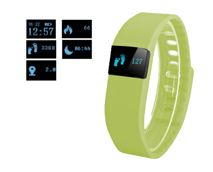 Fitness FT64 Bluetooth 4.0, Android+iOS zelená