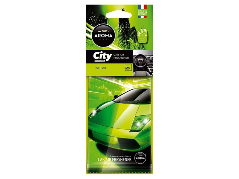 Vůně do auta CAR CITY Lemon