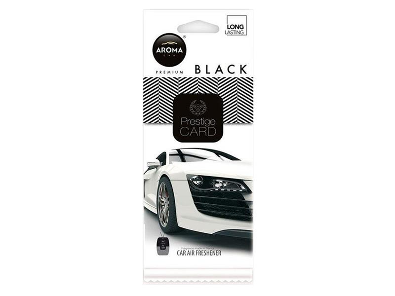 Vůně do auta CAR CITY Card black