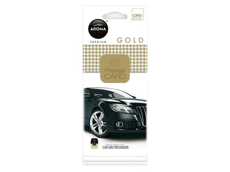 Vůně do auta CAR CITY Card gold