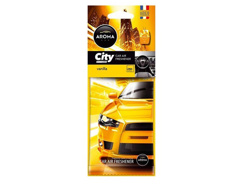 Osvěžovač Aroma CAR CITY VANILLA