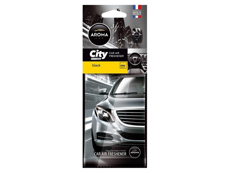 Vůně do auta CAR CITY Black