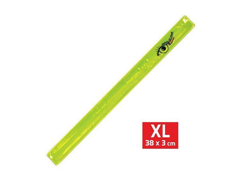 Reflexní pásek ROLLER XL 3x38cm žlutý