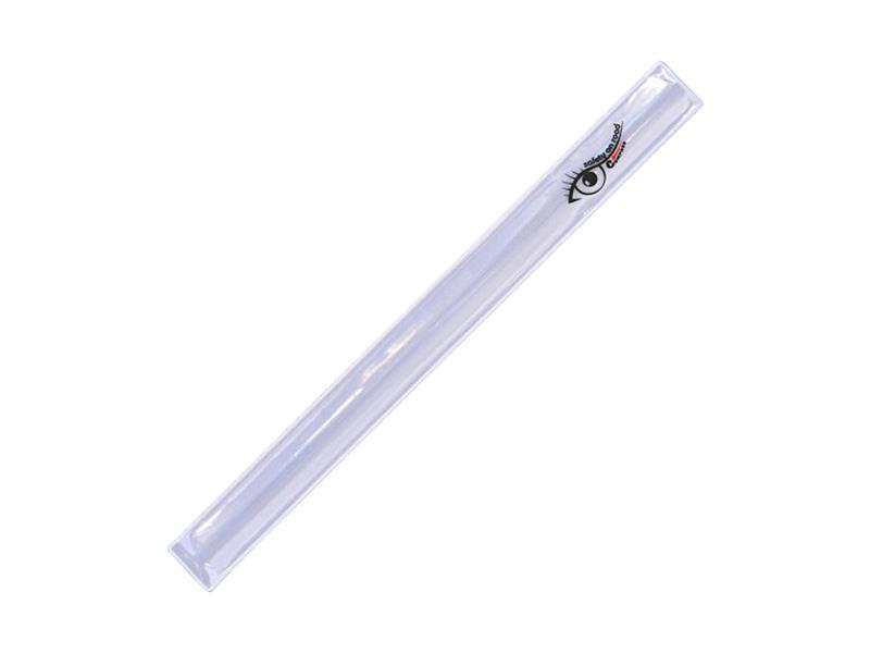 Reflexní pásek ROLLER XXL 4x44cm stříbrný
