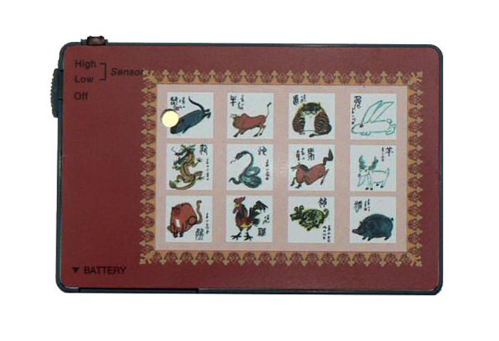Karta do peněženky - alarm