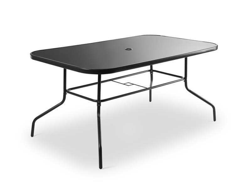 Nábytek zahradní stůl FIELDMANN FDZN 5030 černá deska