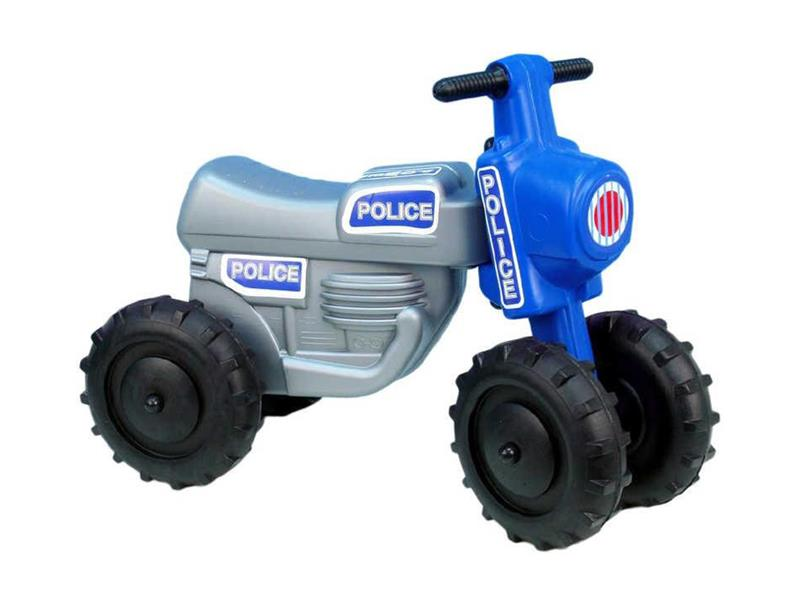 Odrážedlo CROSS POLICIE šedé malé