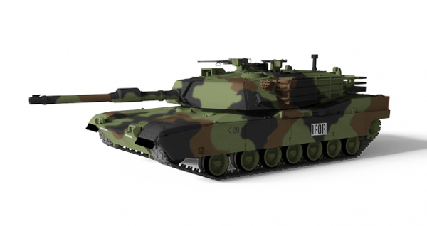 WALTERSONS RC model TANK US M1A1 ABRAMS