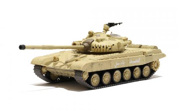 WALTERSONS RC model TANK RUSSIAN T-72 M1 DESERT