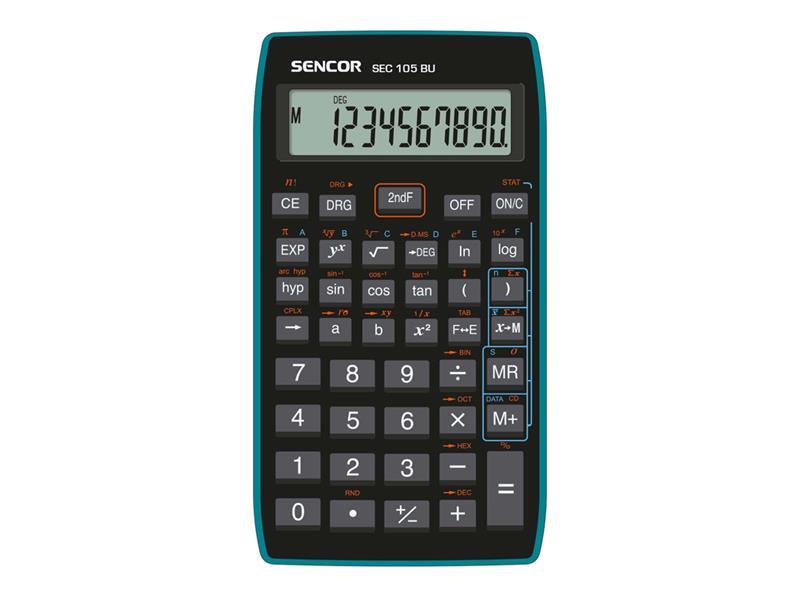 Kalkulátor školní SENCOR SEC 105 BU