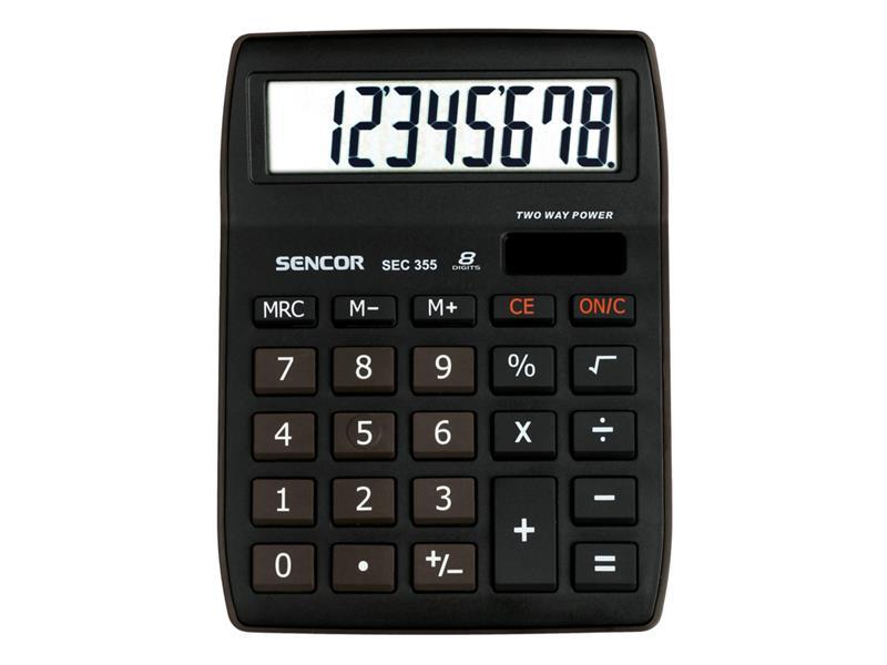Kalkulátor školní SENCOR SEC 355