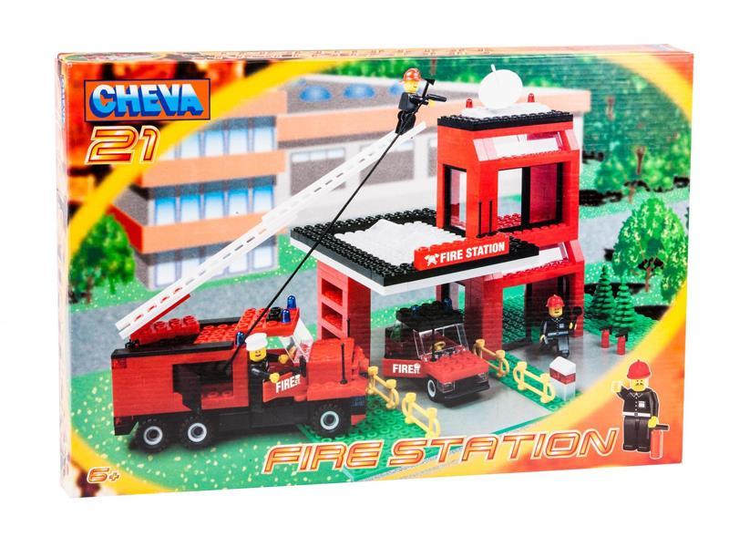 Stavebnice CHEVA 21 požární stanice