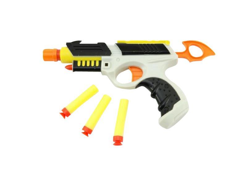 Pistole dětská TEDDIES HANDGUN II pěnové náboje