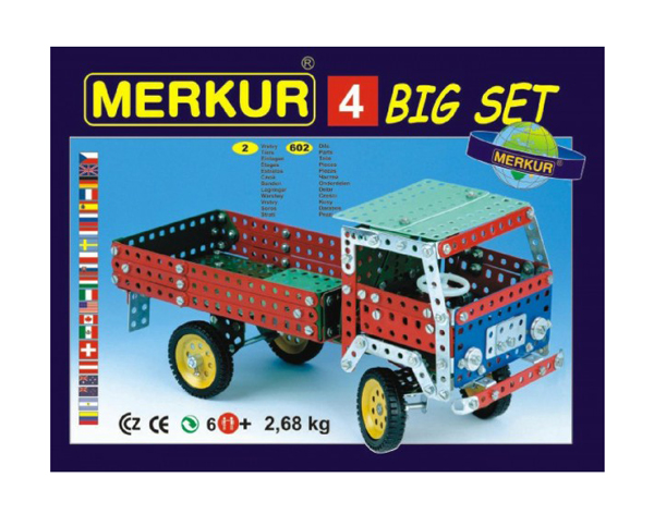 Stavebnice MERKUR 4 BIG SET