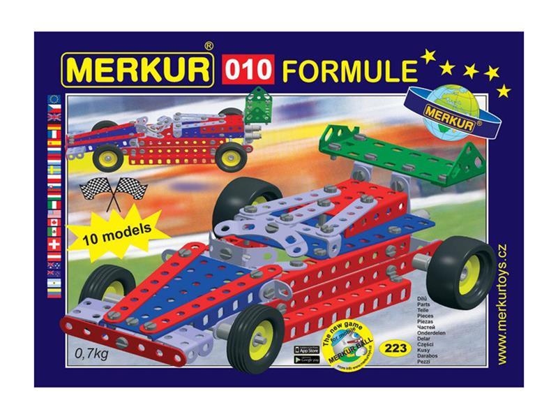 Stavebnice MERKUR 010 FORMULE