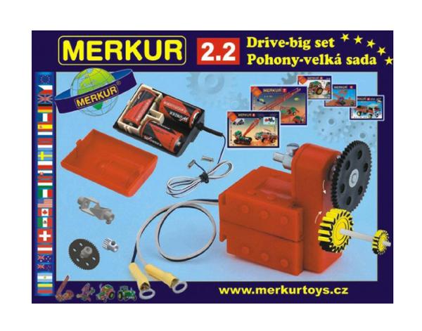 Stavebnice MERKUR 2.2 POHONY a PŘEVODY