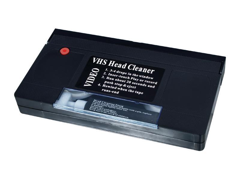 Kazeta VHS čisticí HQ CLP-020