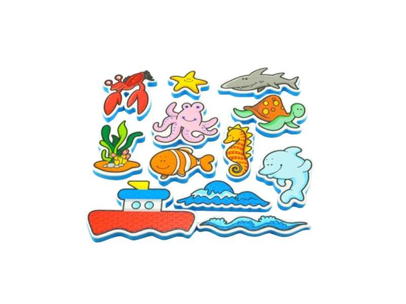 Dětské vodolepky TEDDIES Moje první zvířátka oceán