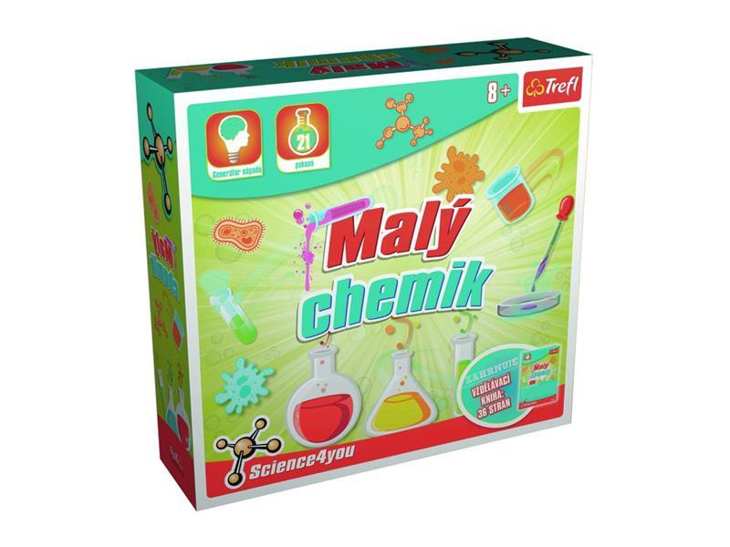 Dětská kreativní hra TREFL malý chemik