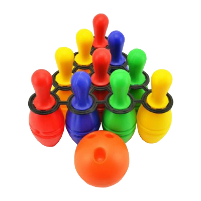 Dětský bowling TEDDIES 10ks
