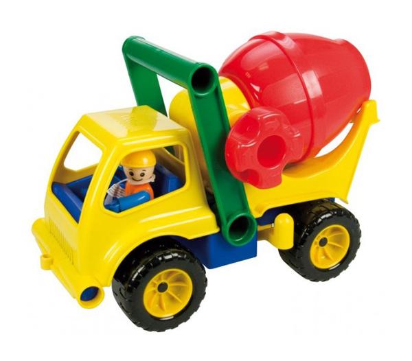 Dětské nákladní auto s míchačkou LENA 27 cm