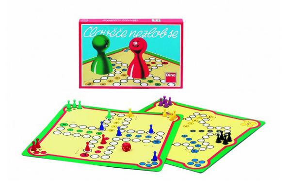 Hra stolní DINO ČLOVĚČE, NEZLOB SE! dětská