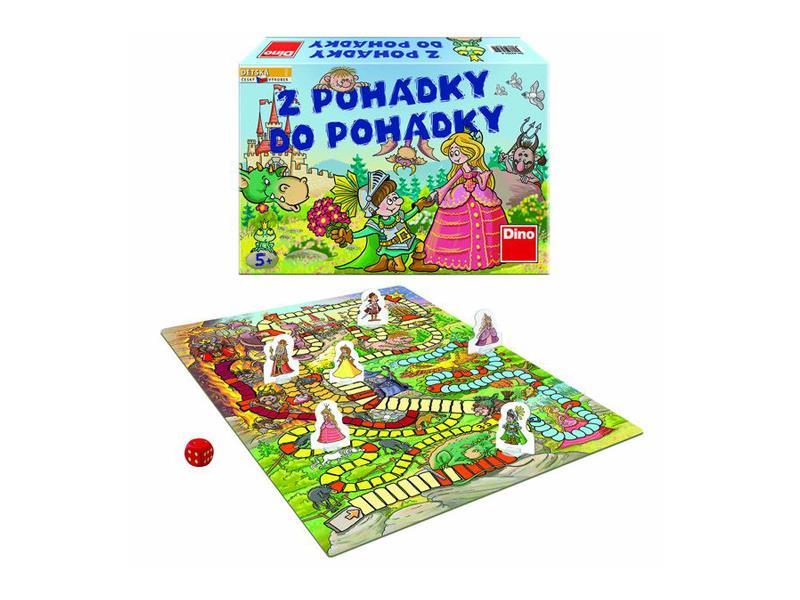 Hra stolní DINO Z POHÁDKY DO POHÁDKY dětská