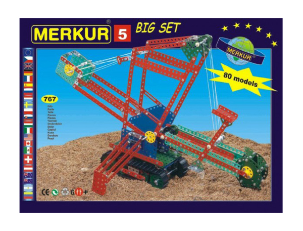Stavebnice MERKUR 5 BIG SET