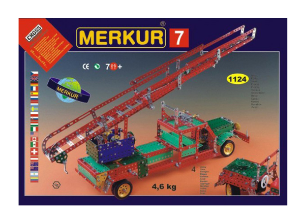 Stavebnice MERKUR 7 BIG SET