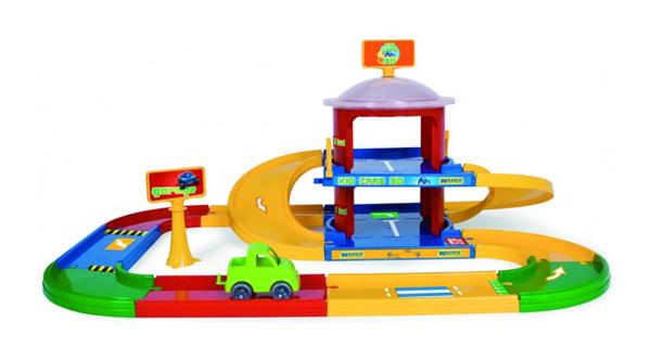 Stavebnice WADER KID CARS 3D GARÁŽ 2 patra 3.4 m
