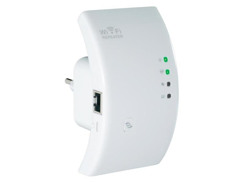 WiFi repeater do zásuvky, 300 MBit/s, 2.4 GHz