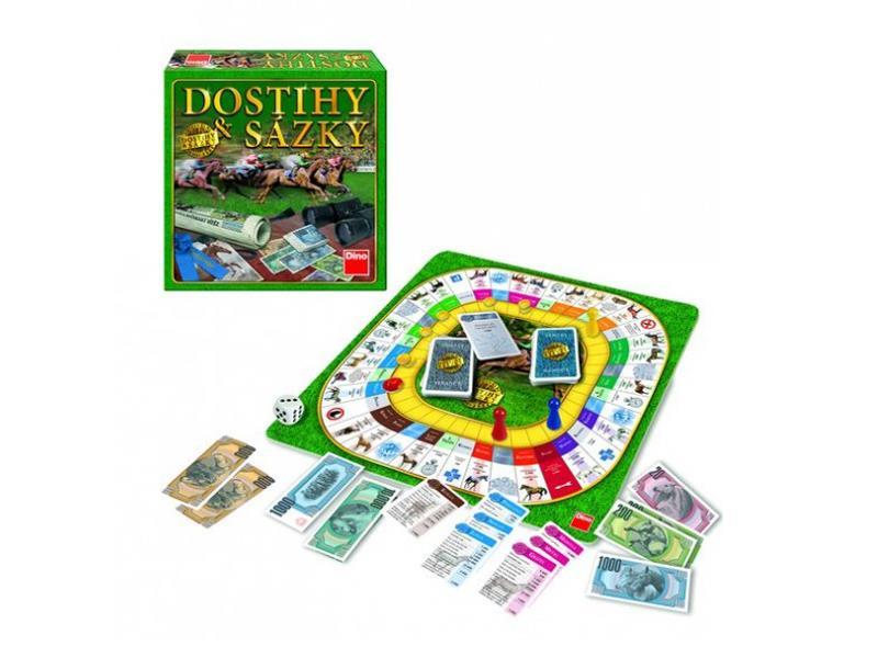 Hra stolní DINO Dostihy a sázky