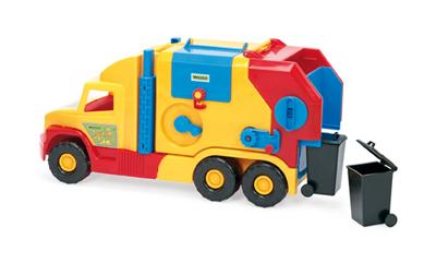 Dětské popelářské auto WADER 57 cm
