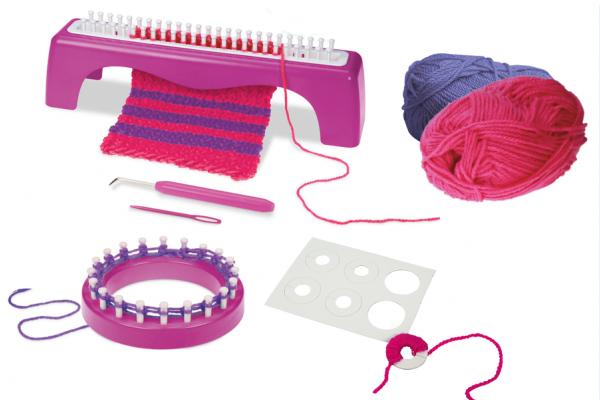 Dětská sada na pletení LENA MILEY